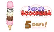 5 days to Scooperia
