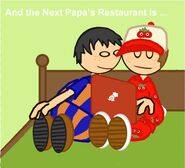 And the next papa's restaurant is