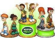 Hypergreen winners