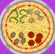 Romano Quartet Pizza (from Blue Hope)