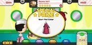 Papa's Scooperia To Go! Banana Split Prize