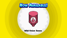 Wild Onion Sauce (Papa's Wingeria To Go!).png