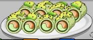 Caterpillar Roll (from DeluxePizza)