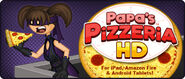 Papa's Pizzeria HD Launched