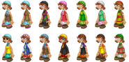 PLP Pally Outfits