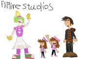Flipline studios sprinks the clown sidney and jordan solary