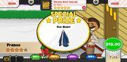 Papa's Wingeria To Go! Shrimp Boat Special Prize