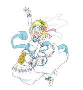 Prudence in Wedding Gown by DokiDokiTsuna