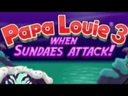 Papa Louie 3- When Sundaes Attack! - Level 7- Lake Chocodunk-Level 8- Cookie Cavern Music Extended