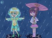 Austin and Tohru by Momoko Sara Hoshino