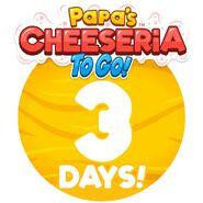 Cheeseria To Go - 3 Days Left