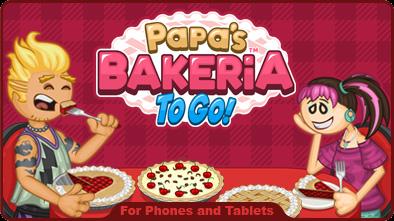 Papa's Bakeria To Go!
