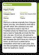 Marina (Flipdeck Info)