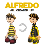 Alfredo All Cleaned-Up!