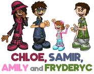 Chloe, Samir, Amily and Fryderyc Blog Post