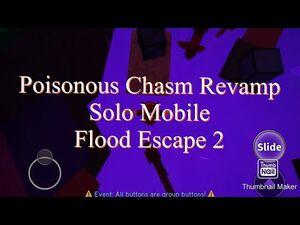 Poisonous Chasm REVAMP -Crazy- (Complete) - Solo Mobile - Flood Escape 2 - Roblox