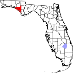 150px-Map of Florida highlighting Bay County svg.png