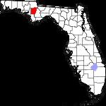 150px-Map of Florida highlighting Calhoun County svg.png