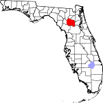 150px-Map of Florida highlighting Alachua County svg.png