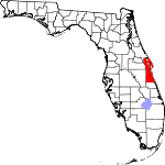 150px-Map of Florida highlighting Brevard County svg.png