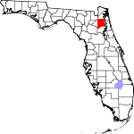 150px-Map of Florida highlighting Clay County svg.png