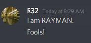 IaMrayMan lol retard