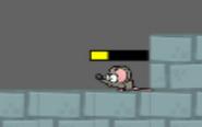 Damaged mouse