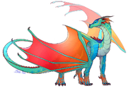 Glory wings of fire by eagleclaw6089 dc8lejw-fullview