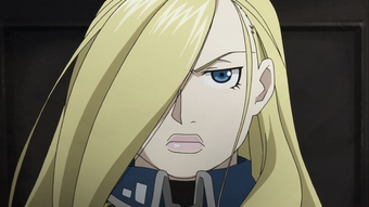Olivier Mira Armstrong Fullmetal Alchemist Wiki Fandom On myanimelist you can learn more about their role in the anime. olivier mira armstrong fullmetal