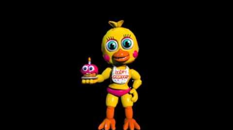 Fnaf World - Toy chicas original voice (Foxy Fighters)