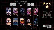 Golden Freddy's Custom Night (Easy Mode)