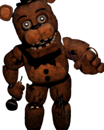Withered Freddy Fnaf The Novel Wiki Fandom Withered freddy is brought to the present day to take on the toy mode in one night at freddy's 2! withered freddy fnaf the novel wiki