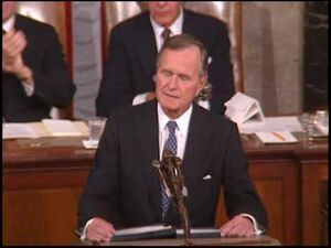Before_a_Joint_Session_of_Congress_-_11_September_1990_-Historical_Speeches_TV-