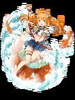 Ascended-Mandarin Squirrel Fish