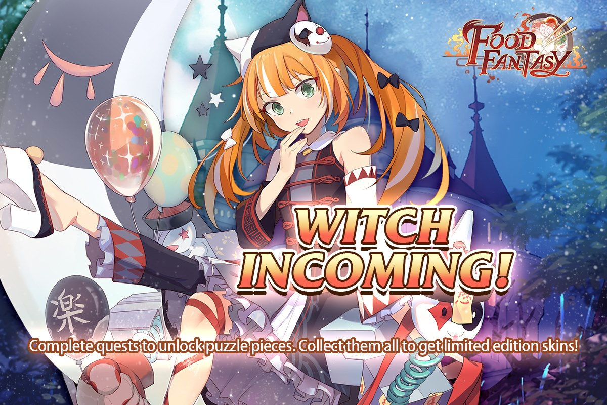 Witch Incoming