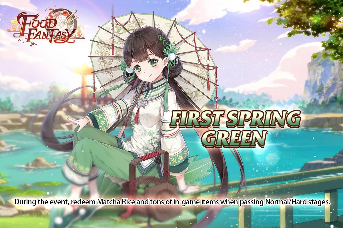 First Spring Green