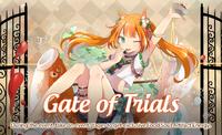 Gate of Trials (Mandarin Squirrel Fish)
