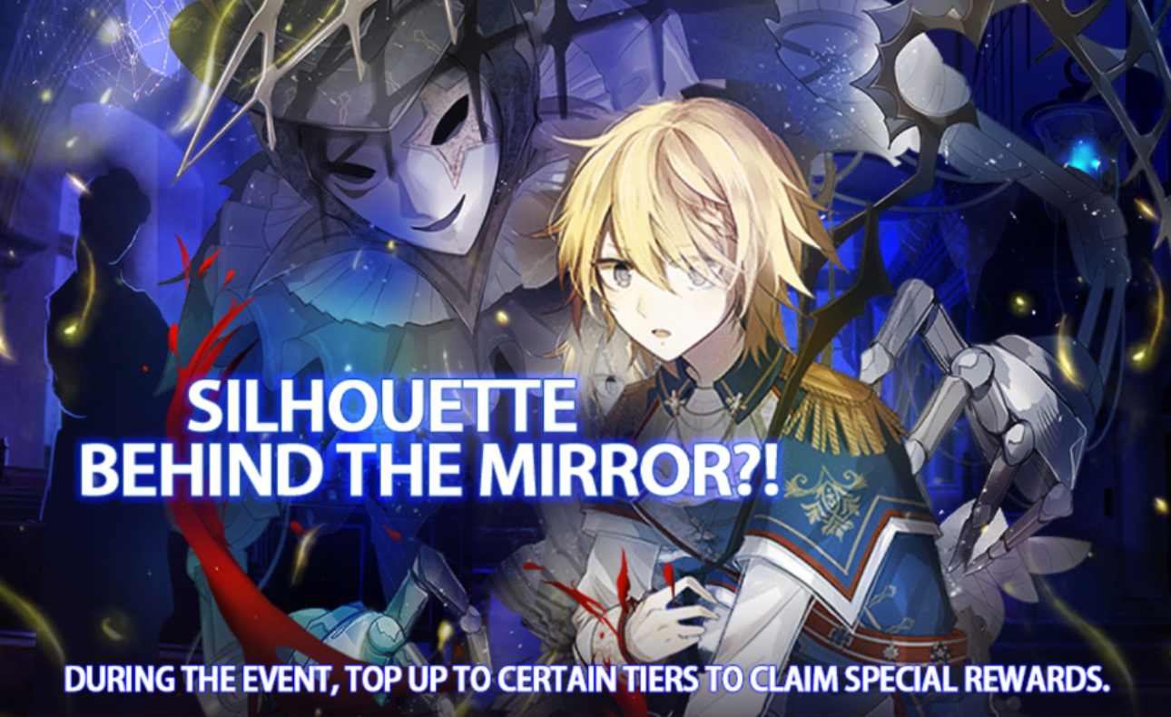 Silhouette Behind the Mirror?!