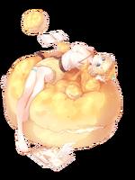 Ascended-Pineapple Bun