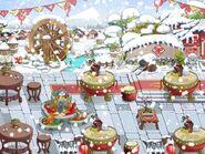 Restaurant Theme-Year-End Carousal