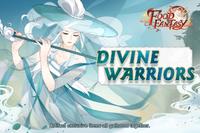 Banner-Divine Warriors