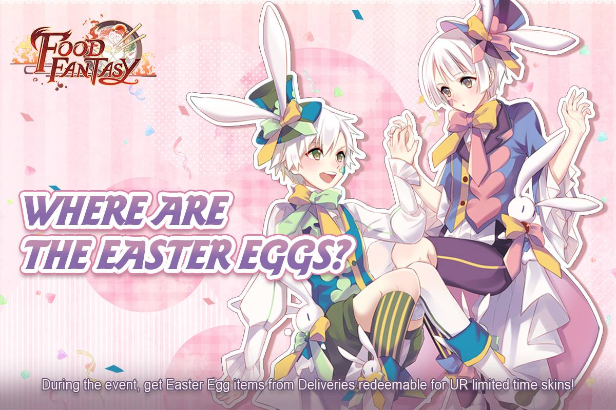 Where are the Easter Eggs?