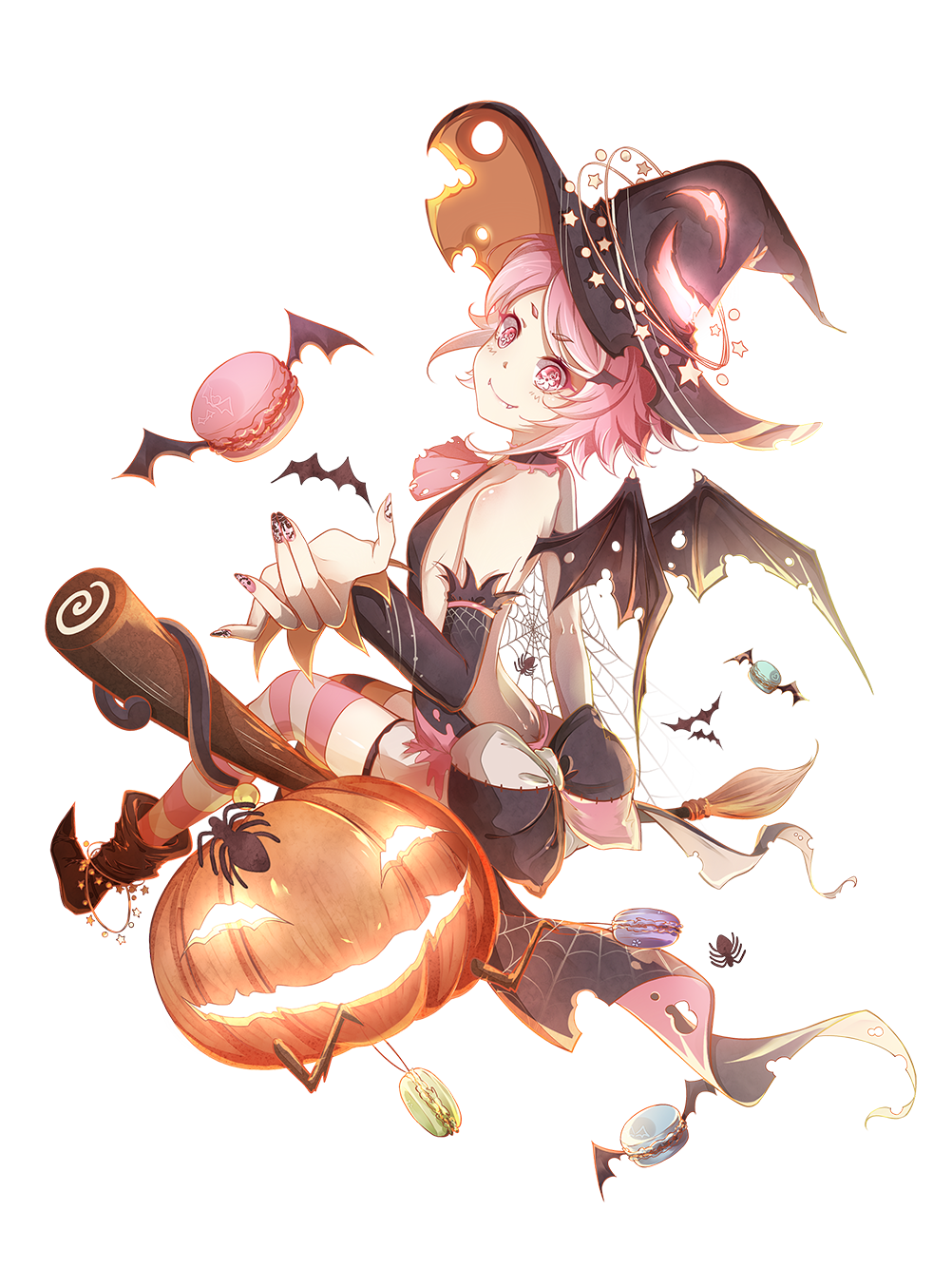 Skin-Macaron-Witch of Hearts.png