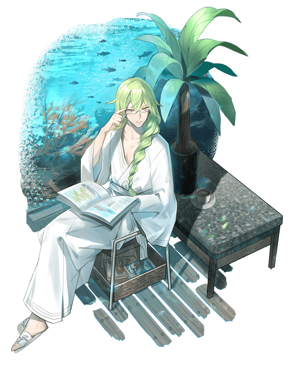 Skin-Green Curry-Rest Time.png