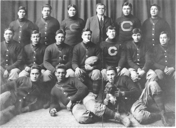 List of Carlisle Indians football seasons