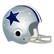 Dallas Cowboys helmet 1964