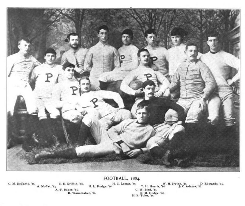 1884 Princeton Tigers football team