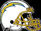 Los Angeles Chargers helmet
