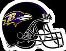 Baltimore Ravens helmet