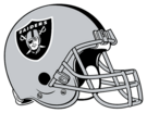 Las Vegas Raiders helmet